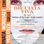 giornata contro la violenza sulle donne a Viterbo