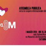 NON UNA DI MENO CATANIA GIOVEDÌ 1 MARZO ASSEMBLEA PUBBLICA VERSO L'8 MARZO 2018